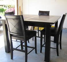 amazing of pub style table with 4 chairs pub style dining sets elegant dining room design