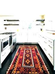carpet for kitchen sink best rug for kitchen enchanting kitchen area rug in ideas cow area