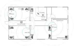 office plan software. Conceptdraw Samples Building Plans Office Layout Plan Maker Sample Wireless Ne: Full Size Software