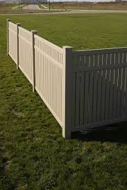 vinyl semi privacy fence.  Vinyl The Lexington Privacy Vinyl Fence Offers The Same Tongue And Groove  Construction With A More Competitive Intended Vinyl Semi Fence N