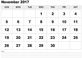 november 2017 printable calendar pdf free design and templates
