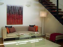 Interior Design Abstract Painting - Hanging By A Thread