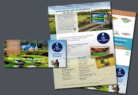 Creative Design - Golf Tournament Brochure - Davco Advertising