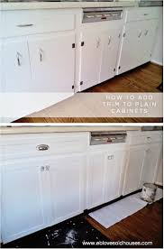 how to make shaker cabinet doors. Kitchen Cabinets Makeover | Shaker Style, Flats And Style EB Loves Old Houses How To Add Trim - Spruce Up Those Make Cabinet Doors F