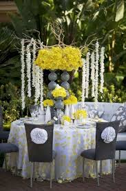 styledevent com fifty shades of grey (or gray) Wedding Decorations Yellow And Gray yellow grey wedding decor meant2be events modern yellow wedding decorations yellow and gray