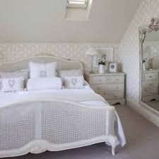 Slanted Ceiling Bedroom Elegant Slanted Ceiling For French Country Bedroom With Silver