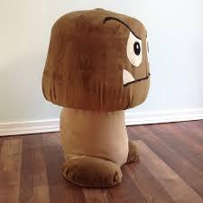 mushroom stool video game theme custom furniture. mushroom stool video game theme custom furniture room chairs props o