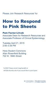 Research Resources Friday Newsletter 04 17 15