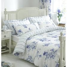 cotton blue and white fl reversible duvet cover queen size measurements penelope organic full twilight king