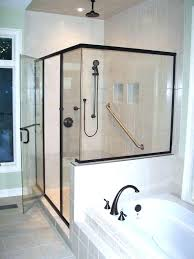 shower decals door beautiful sliding glass backyards doors house decorative etched