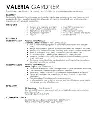 Sample Resume For Retail Manager Inspiration Retail Manager Resumes Retail Manager Resume Examples Best Assistant