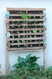how to build a vertical garden.  Build How To Build A Vertical Garden Using Pallets For To A E