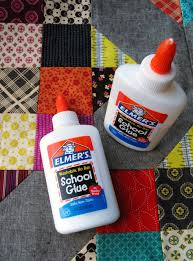 Quilting Glue: How to Use Glue in Quilting | Bottle, Benefit and ... & Elmer's Glue Bottles - How to Use Glue in Quilting Adamdwight.com
