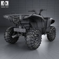 yamaha grizzly 700. yamaha grizzly 700 2013 3d model max obj 3ds fbx c4d lwo lw lws 5 _