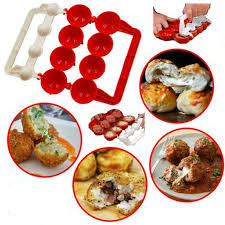 Red <b>1PC Meatballs</b> Fishballs <b>Mold</b> Creative Fish <b>Meat Balls</b> Maker ...