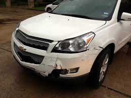 Reluctant to Post - Got in a wreck!!! - Chevy Traverse Forum ...
