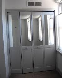 mirrored bifold closet doors. Nice Mirror Bifold Doors And Wonderful Closet D Throughout Inspiration Mirrored