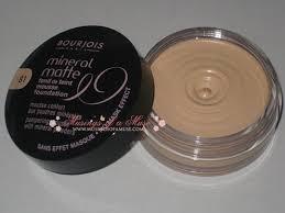 Bourjois Paris Mineral Matte Foundation Review Beauty