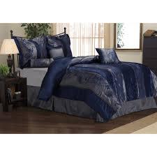 incredible rosemonde piece navy blue comforter set com image for duvet cover queen trend and styles