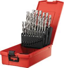 hilti hand tools. hss set premium precision-ground drill bit for drilling small holes in metal hilti hand tools l