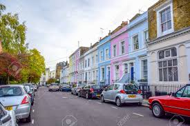 Portobello Road Market, A Famous Street In The Notting Hill District Of  Royal Borough Of Kensington And Chelsea In West London, England, United  Kingdom Lizenzfreie Fotos, Bilder Und Stock Fotografie. Image 116200525.