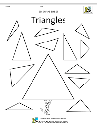 shapes for kids triangles bw shapes clipart basic 2d shapes on basic math operations worksheet