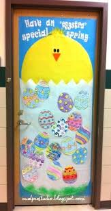 Cute Door Decorations Cute Spring Chick And Eggs Classroom Door