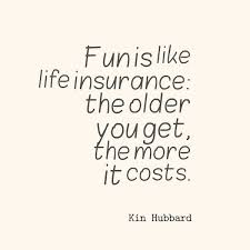 Quotes About Life Insurance Fascinating Kin Hubbard Quote About Fun Awesome Quotes About Life