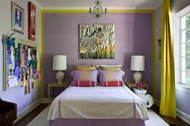 Purple And Yellow Bedroom Ideas For Teenage Bedroom Decorating Ideas