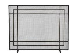 USA Made Custom Fireplace Screens  Stoll Fireplace IncModern Fireplace Screens