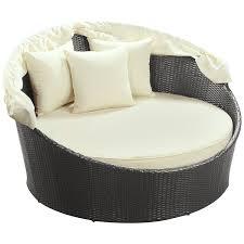 exquisite wicker bedroom furniture. Modway Siesta Outdoor Wicker Patio Canopy Bed In Hanging Swing Exquisite Bedroom Furniture