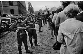 Image result for the occupation of czechoslovakia in 1968 images