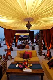 Arabian inspired exotic beach wedding reception! I adore these amazing  desert tents and Moroccan inspired. Middle Eastern ...