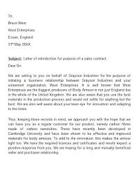 Sample Letter To Clients 40 Letter Of Introduction Templates Examples