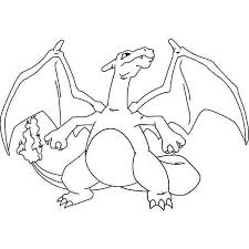 Charizard Coloring Page At Getdrawingscom Free For Personal Use