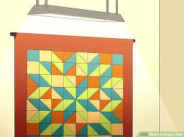 Creative Ways To Display Baby Quilts Ways To Display Antique ... & ... Ways To Hang Small Quilts Image Titled Hang A Quilt Step 6 Best Way To  Hang ... Adamdwight.com