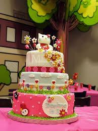 Birthday Birthday Cake Birthday Cake Design Cake Hello Kitty