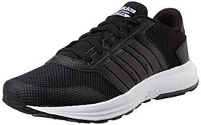 adidas cloudfoam. adidas neo men\u0027s cloudfoam saturn cblack and ftwwht sneakers - 7 uk/india (40.7