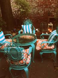 how to paint patio furniture with chalk paint iron patio furniture chalk paint and wrought iron