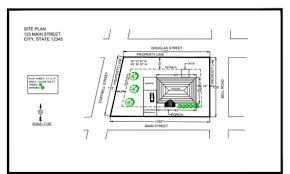 Drawings Site Site Plans For Residential Permits Architectural Drawings