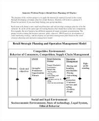 Retail Business Strategic Plan Example Sample Goals Template Monster ...