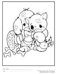 Coloring Pages Of Puppys Pets Disney Puppy Dog Pals Interactive