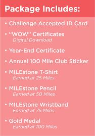 Our Program 100 Mile Club