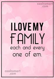I Love My Family Quotes Gorgeous Family Quotes And Sayings Images Pictures CoolNSmart