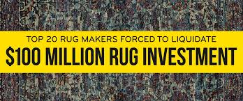 top 20 rug makers forced to liquidate 100 million rug investment