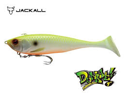 Plat Jackall Dunkle 7inch Chart Back Pearl Lure Fishing