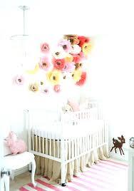 baby nursery wall art baby girl nursery ideas 8 paper flower  on diy wall art for baby girl nursery with baby nursery wall art baby girl nursery ballerina fun sale print