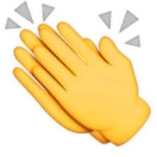 Resultado de imagen de emoticon aplaudiendo