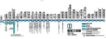 都営 三田 線 路線 図