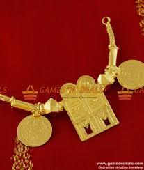 thal10 gold plated jewellery sivalingam lakshmi kasu thali set design south indian jewelry 150 1 850x1000 jpg